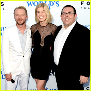 Rosamund Pike & Simon Pegg: 'World's End' Premiere!