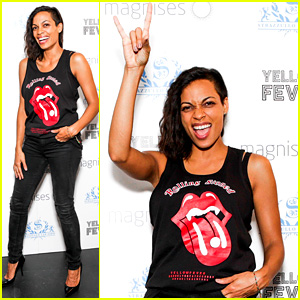 Rosario Dawson: Yellow Fever Presentation Host!