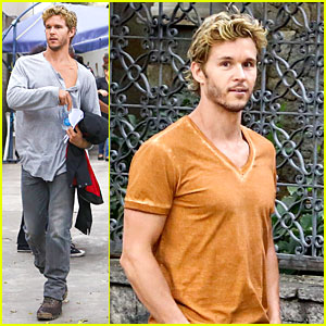 Ryan Kwanten: Nothing Like the Comfort of Home!