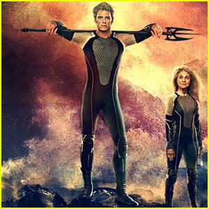 Sam Claflin: 'Hunger Games' Victor's Poster!