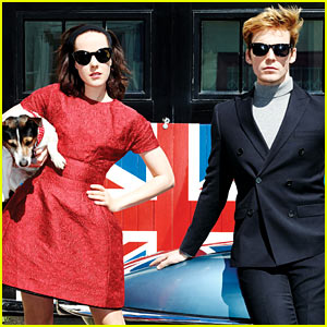 Sam Claflin & Jena Malone Talk 'Hunger Games' to 'Glamour'