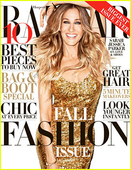 Sarah Jessica Parker Covers 'Harper's Bazaar' September 2013