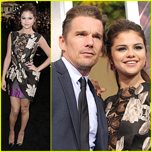 Selena Gomez & Ethan Hawke: 'Getaway' L.A. Premiere!