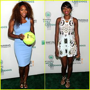 Serena Williams: BNP Paribas Taste of Tennis with Venus!