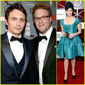 James Franco Gets Roasted By Seth Rogen & Friends!