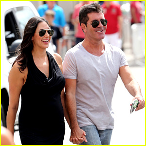 Simon Cowell & Lauren Silverman Hold Hands in St. Tropez