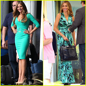 Sofia Vergara: 'Hot, Fun, Long Day' on 'Chef' Set!