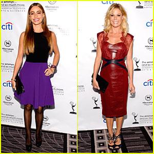 Sofia Vergara & Julie Bowen: Performers Peer Cocktail Reception!