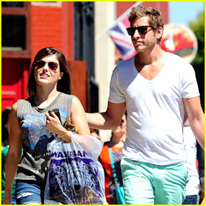 Sophia Bush & Dan Fredinburg: Melrose Shopping Couple!