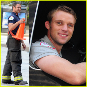 Taylor Kinney & Jesse Spencer: 'Chicago Fire' Studs!
