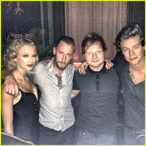 Taylor Swift & Harry Styles Reunite at VMAs Party! (PHOTO)