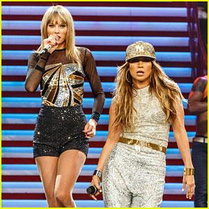 Taylor Swift & Jennifer Lopez Perform 'Jenny From the Block' - Watch Now!