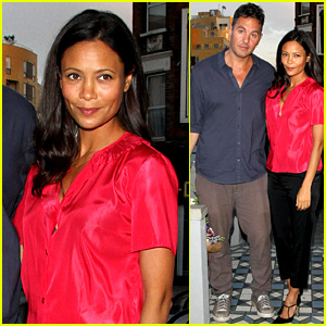 Thandie Newton: Madame Gautier Launch Party with Ol Parker!