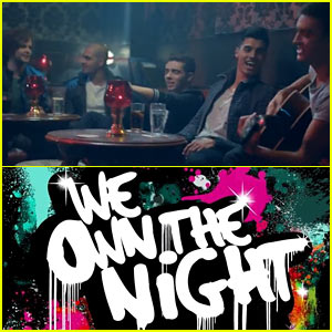 The Wanted's 'We Own the Night' Video Premiere - Watch Now!