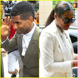 Usher Wins Custody Battle, Hugs Tameka Foster After Trial