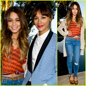 Vanessa Hudgens & Rashida Jones: Lucky Brand Celebration Event