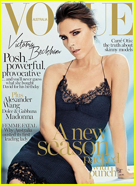Victoria Beckham Covers 'Vogue Australia' September 2013
