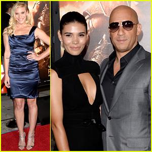 Vin Diesel & Katee Sackhoff: 'Riddick' Premiere!