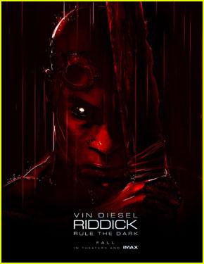 Vin Diesel: 'Riddick' Poster & Official Trailer!