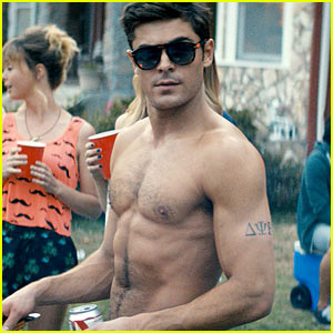 Zac Efron: Shirtless 'Neighbors' Still!
