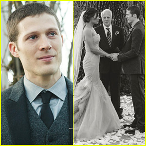 Zach Gilford Tears Up in Wedding Photos with Kiele Sanchez!