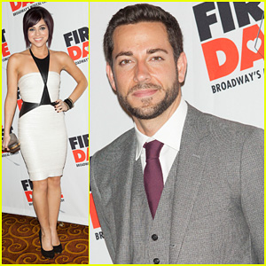 Zachary Levi & Krysta Rodriguez: 'First Date' Opening Night!