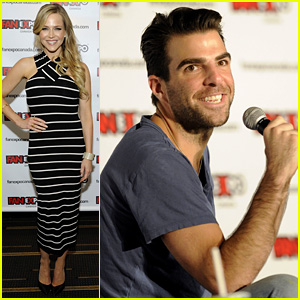 Zachary Quinto & Julie Benz: Fan Expo Canada 2013!