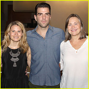 Zachary Quinto: 'The Glass Menagerie' Media Day!