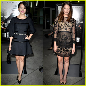 Ziyi Zhang: 'Grandmaster' Premiere with Analeigh Tipton!