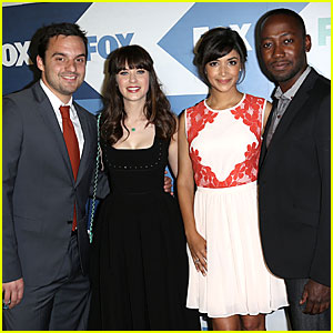 Zooey Deschanel & 'New Girl' Cast: Fox TCA Summer Party!