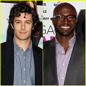 Adam Brody & Taye Diggs: 'Baggage Claim' L.A. Premiere!