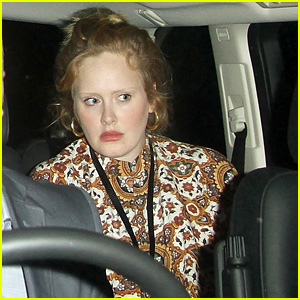 Adele Exits iTunes Festival Venue After Lady Gaga's Show