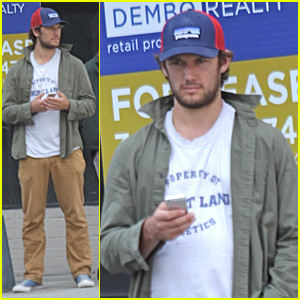 Alex Pettyfer Makes Video Confirming His Instagram Account