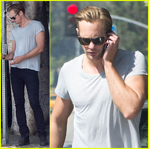 Alexander Skarsgard: I'm Very Excited to Meet Prince Harry!