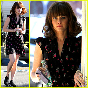 Alexis Bledel Spotted After Fans Start 'Fifty Shades' Petition