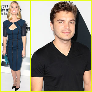 Alice Eve & Emile Hirsch: 'Star Trek Into Darkness' DVD Party!