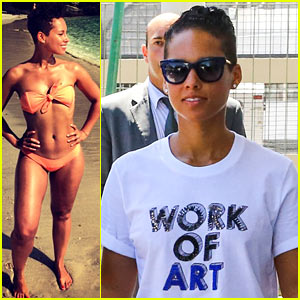 Alicia Keys Flaunts Bikini Body in Rio de Janeiro!