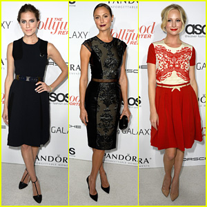 Allison Williams & Stacy Keibler: THR's Emmy Party!