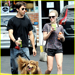Amanda Seyfried & Justin Long: Weekend Outing with Finn!