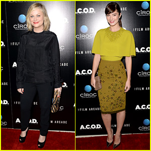 Amy Poehler & Mary Elizabeth Winstead: 'A.C.O.D.' Premiere!