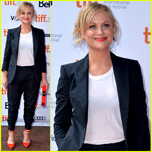 Amy Poehler: 'You Are Here' Premiere at Toronto Film Festival!