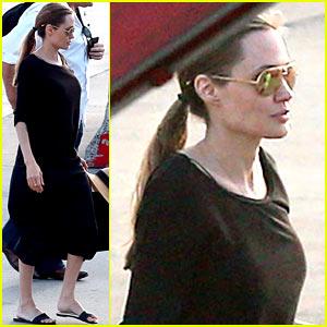 Angelina Jolie Scouts Locations for 'Unbroken' in Australia!