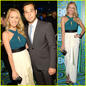 Anna Camp & Skylar Astin - HBO's Emmys After Party 2013