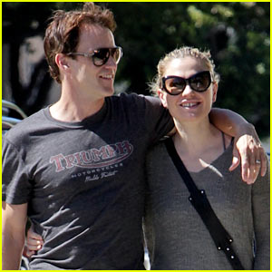 Anna Paquin & Stephen Moyer: Loved Up in Santa Monica!