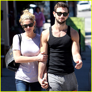 Ashley Greene Holds Hands with Paul Khoury!
