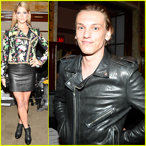 Ashley Greene & Jamie Campbell Bower: Fashion Week Fun!