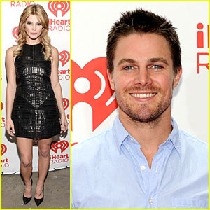 Ashley Greene & Stephen Amell: iHeartRadio Music Festival Presenters!