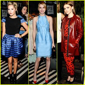 Emma Roberts & Holland Roden: Emily & Meritt's PBteen Launch