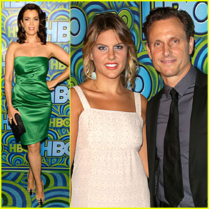 Bellamy Young & Tony Goldwyn - HBO's Emmy After Party 2013