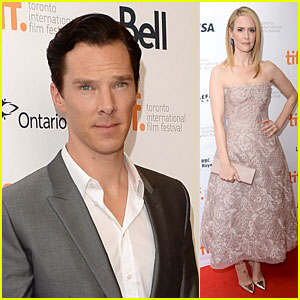 Benedict Cumberbatch & Sarah Paulson: '12 Years A Slave' Premiere at TIFF!